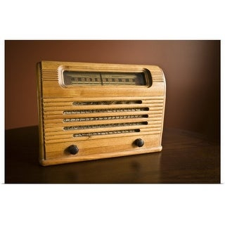 """Antique radio"" Poster Print"
