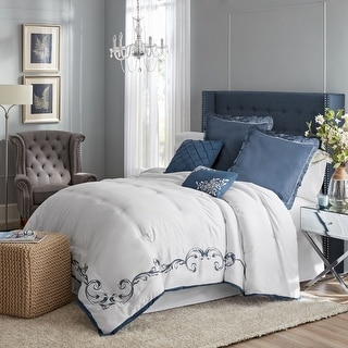 Link to Hotel Style Vivien Embroidered Comforter Set, Similar Items in Comforter Sets