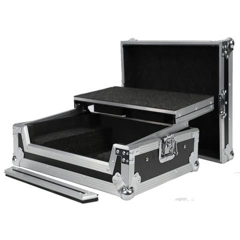 Fly Drive Case For Roland Dj202 Pro Dj Controller Or Similarly Sized Equipment W/Laptop Shelf