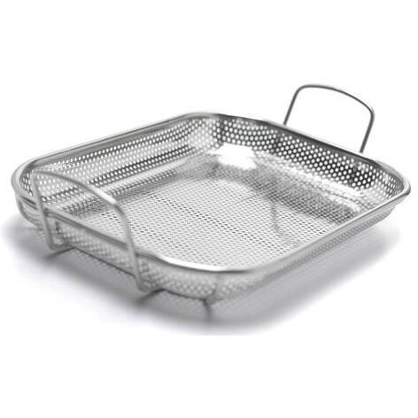 "Broil King 69819 Stainless Steel Roaster Basket, 3.94"" x 16.93"" x 11.22"""
