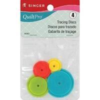 4/Pkg - Quiltpro Tracing Discs