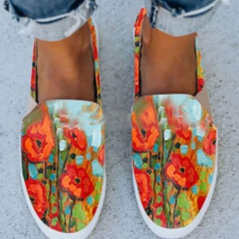 All Season Flat Heel Athletic & Casual Shoes