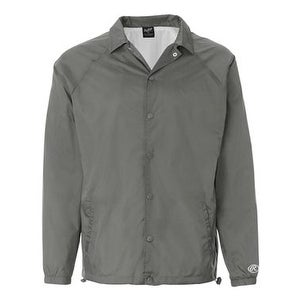Rawlings Nylon Coach's Jacket - Steel - 2XL