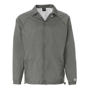 Rawlings Nylon Coach's Jacket - Steel - L