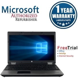 "Refurbished HP ProBook 6555B 15.6"" Laptop AMD Phenom II x4 N930 2.0G 4G DDR3 250G DVDRW Win 7 Pro 64-bit 1 Year Warranty"