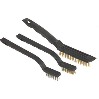 Great Neck 3Pc Wire Brush Set BS3W Unit: EACH