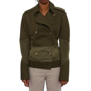 Joseph Oita Cargo Jacket Basic Jacket Khaki