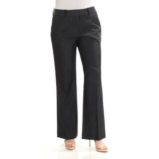 Womens Navy Wear To Work Straight leg Pants Size 8