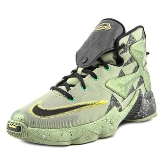 Nike Lebron XIII AS Youth Round Toe Synthetic Green Sneakers