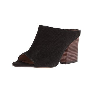 Franco Sarto Womens Firefly Mules Open Toe Sandals - 9 medium (b,m)