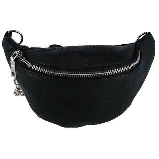 CTM® Fashion Waist Pack with Chain Strap - One size