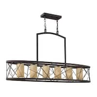 Fredrick Ramond FR41616 6-Light 1 Tier Chandelier from the Nest Collection - n/a