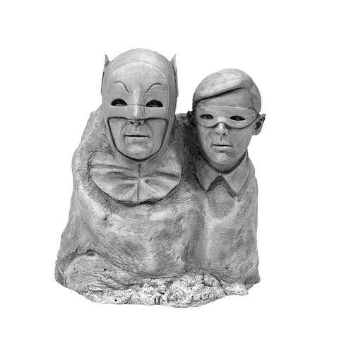 DC Comics Batman 1966 Dynamic Duo Monolith Statue - Multi