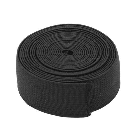 Tailoring Sewing Stretchy Knitting Elastic Band Wristband Black 2.73 Yards