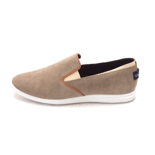 Cole Haan Womens 15A4157 Suede Low Top Slip On Fashion Sneakers - 6