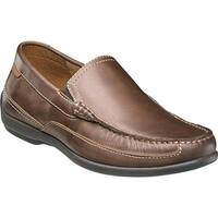 Florsheim Men's Moto Venetian Slip On Brown Crazy Horse Leather