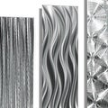 Statements2000 Silver Metal Wall Art Accent Panels by Jon Allen (Set of 5) - 5 Easy Pieces - Thumbnail 9