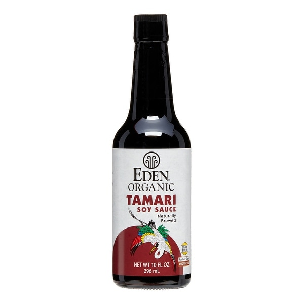 Eden Foods Organic Domestic Tamari, Wheat-Free 10 oz. (Pack of 12)