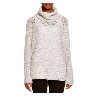 Sanctuary Womens Tunic Sweater Wool Blend Cowl