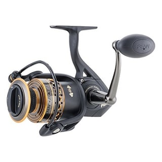 Penn 1338220 Btlii5000 Battle Ii Spinning Fishing Reel 5000 Size 5.6:1 25 Lbs
