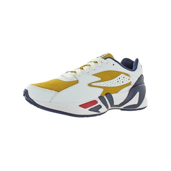 Shop Fila Mens Mindblower Sneakers Trainers Leather