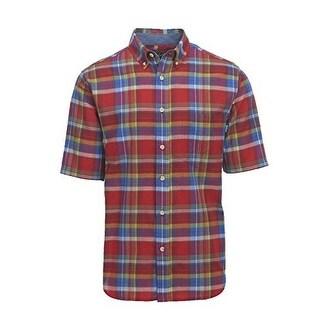 Woolrich Mens Timberline Shirt, Antique Red, Xxl