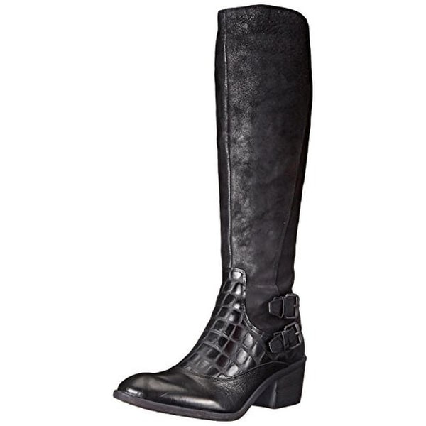Donald J. Pliner Womens Dulce Riding Boots Leather Knee-High