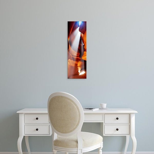 Easy Art Prints Panoramic Images's 'Rock formations in a slot canyon, Upper Antelope Canyon, Page, Arizona' Canvas Art