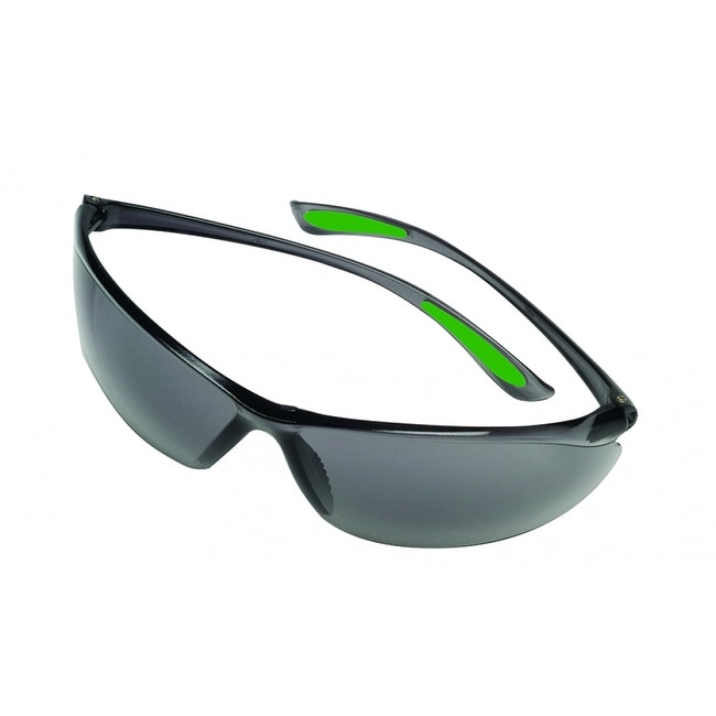 MSA Safety Works 10105407 Feather Fit Safety Glasses with Gray Tinted Lens