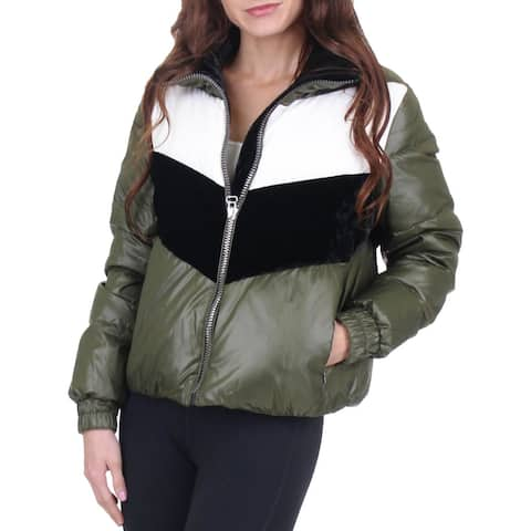 Marc New York by Andrew Marc Womens Bedford Puffer Coat Winter Down