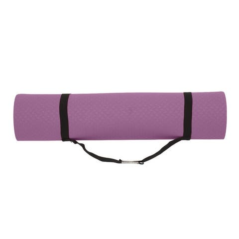 Folding Extra Thick Yoga Mat, for Women Exercises, Pilates, Fitness