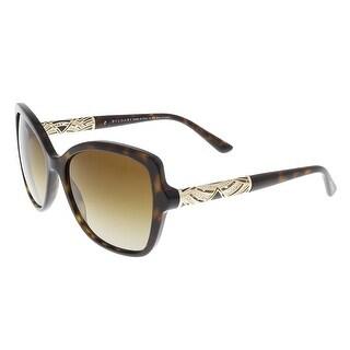 Bulgari BV8174B 504/T5 Havana Square Sunglasses