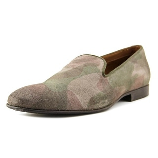 Aldo Hirstein Men Round Toe Leather Multi Color Loafer