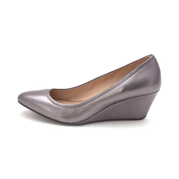 Cole Haan Womens 15A4202 Closed Toe Wedge Pumps - 6