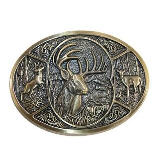 CTM® Deer Hunting Belt Buckle - One size