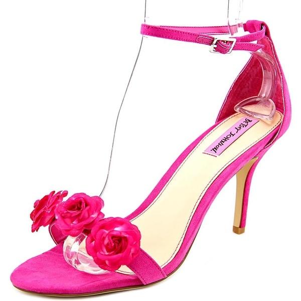 Betsey Johnson Bromme Women Fuchsia Sandals