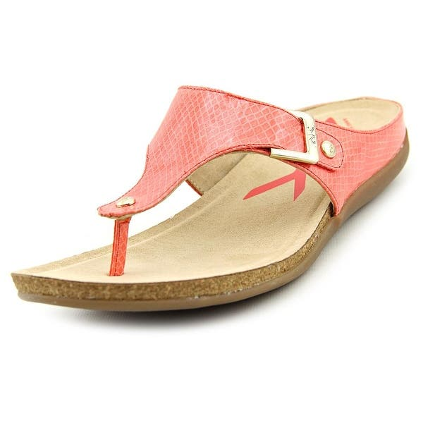 5427c8b81ef Shop Anne Klein Sport Qual Open Toe Synthetic Thong Sandal - Free ...