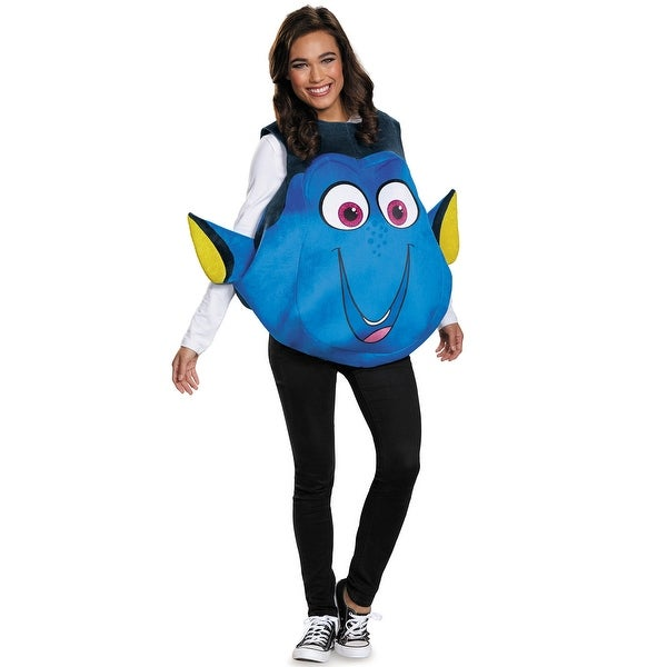 Disguise Dory Fish Adult Costume - Blue - One Size