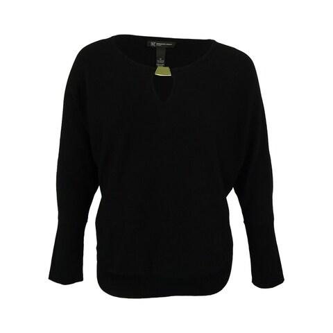 INC International Concepts Women's Keyhole Sweater