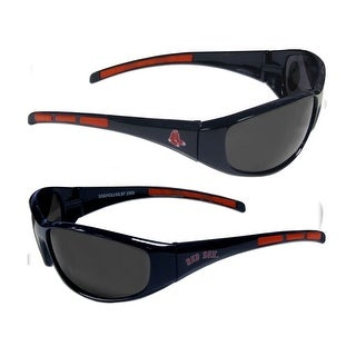 MLB Boston Red Sox Wrap 3 Dot Sunglasses