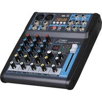Professional Four-Channel Audio Mixer With USB Interface,