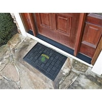 Fanmats 11773 COL - 19 in. x30 in.  - Baylor Medallion Door Mat