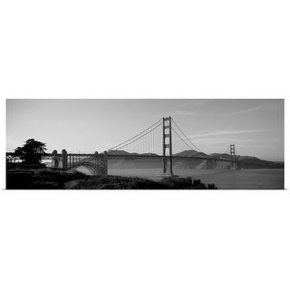 """Golden Gate Bridge, San Francisco, California"" Poster Print"