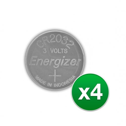 Replacement Battery for Energizer CR2032VP 2Pack (4-Pack) Replacement Battery