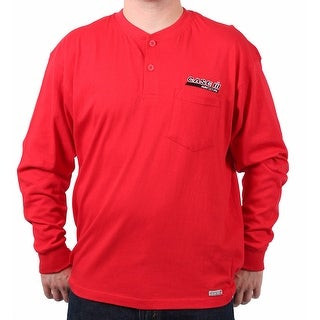 Case IH Men's Logo Embroidered Pocket Henley