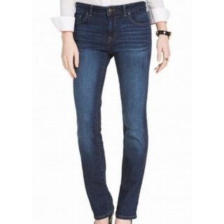 Tommy Hilfiger NEW Dark Blue Women's Size 16 Straight Leg Jeans