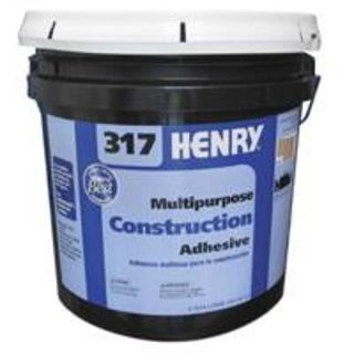 Henry FP00317069 Multi-Purpose Construction Adhesive, # 317, 4 Gallon
