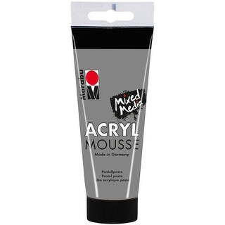 Marabu Acryl Mousse 100Ml-Light Grey