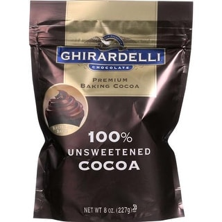 Ghirardelli - Unsweetened Cocoa Powder ( 6 - 8 OZ)