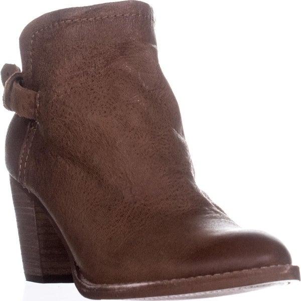 Dolce Vita Joplin Ankle Booties, Teake Leather - 10 us